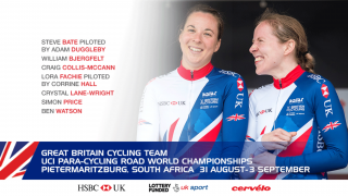 Great Britain Cycling Team squad for the 2017 UCI Para-cycling Road World Championships
