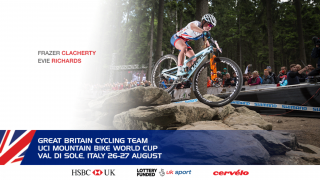 Great Britain Cycling Team for the UCI Mountain Bike World Cup in Val di Sole, Italy