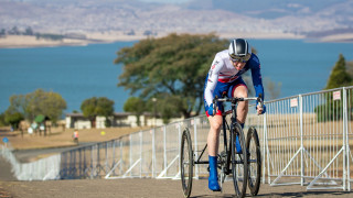 Great Britain Cycling Team's Craig Collis-McCann finishes sixth in the T2 time trial on day one of the UCI Para-cycling Road World Championships