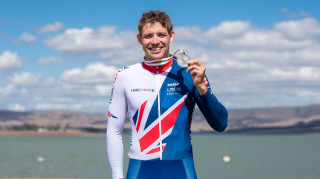 Great Britain Cycling Team's Ben Watson wins time trial silver at the UCI Para-cycling Road World Championships