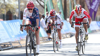 Great Britain Cycling Team's Crystal Lane-Wright wins bronze in the C5 road race at the UCI Para-cycling Road World Championships