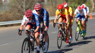 Great Britain Cycling Team's Steve Bate and Adam Duggleby finished seventh in the road race at UCI Para-cycling Road World Championships