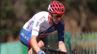 Great Britain Cycling Team's Will Bjergfelt finishes eighth in the C5 road race at the UCI Para-cycling Road World Championships