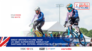 Great Britain Cycling Team for the UCI BMX Supercross World Cup in Santiago del Estero, Argentina