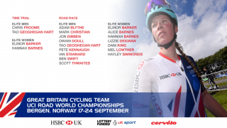 Great Britain Cycling Team's elite men's and women's teams for the 2017 UCI Road World Championships