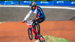 Great Britain Cycling Team's Kye Whyte at the UCI BMX World Championships