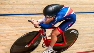 Great Britain Cycling Team's Ellie Dickinson