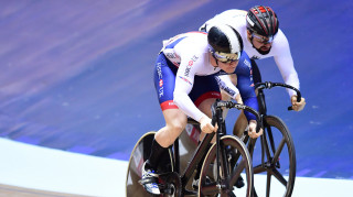 Great Britain Cycling Team's Jack Carlin