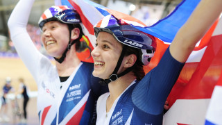 Elinor Barker and Katie Archibald are flying the flag for women's cycling