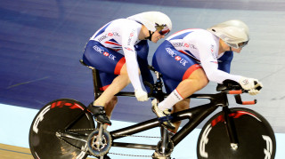 Great Britain Cycling Team's James Ball and Matt Rotherham