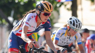 Great Britain Cycling Team's Lizzie Deignan in action at the 2017 UCI Road World Championships