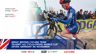 Great Britain Cycling Team for the Telenet UCI Cyclo-cross World Cup in Zeven, Germany