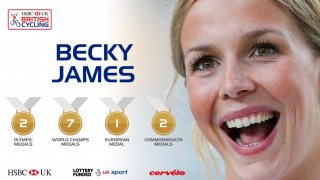 Becky James career stats