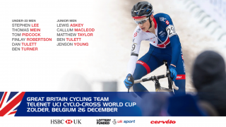 Great Britain Cycling Team for Zolder cyclo-cross world cup