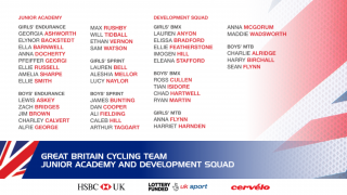 Great Britain Cycling Team Junior Academy 2017