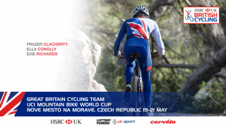 Great Britain Cycling Team for mountain bike world cup