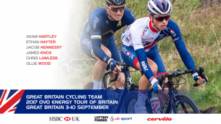Great Britain Cycling Team named for 2017 Ovo Energy Tour of Britain