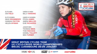 Great Britain Cycling Team for the 2017 UCI Cyclo-cross World Championships