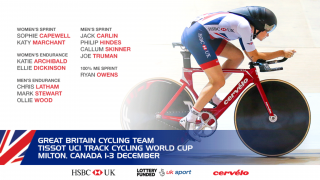 Great Britain Cycling Team for Tissot UCI Track Cycling World Cup, Canada