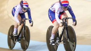 Bronze for Lauren Bate and Georgia Hilleard in the team sprint