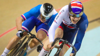 Lewis Stewart reached the quarter finals in the junior men's sprint