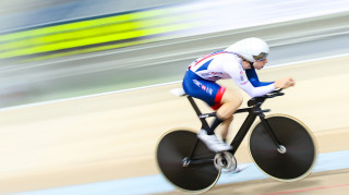 Mark Stewart won gold for Great Britain Cycling Team in Individual Pursuit