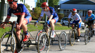 The race is on for the T2 road race in Maniago