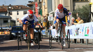 Craig McCann wins silver for Great Britain Cycling Team at the UCI Para-cycling Road World Cup