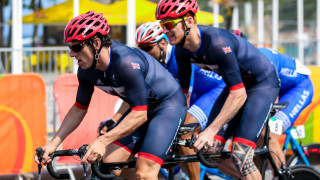 Adam Duggleby and Steve Bate compete at the Rio Paralympics