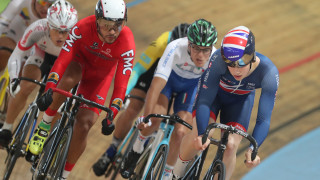 Lewis Stewart narrowly missed out on the keirin world championship final
