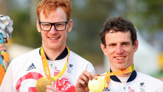 Steve Bate and Adam Duggleby reunite for the uci para-cycling road world cup