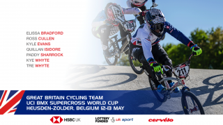 Great Britain Cycling Team for the UCI BMX Supercross World Cup, Zolder