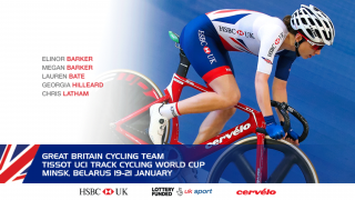 Great Britain Cycling Team for the Tissot UCI Track Cycling World Cup in Minsk, Belarus