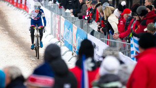 Tom Pidcock finished second in men's under-23 race at the final round of the 2017/18 Telenet UCI Cyclo-cross World Cup