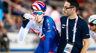 Great Britain Cycling Team's Ollie Wood to compete in the omnium at the world championships