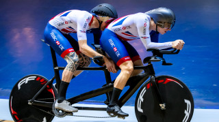 Great Britain Cycling Team's Steve Bate, piloted by Adam Duggleby