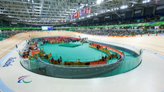 The Rio Olympic Velodrome