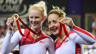 Team England's Sophie Thornhill and Helen Scott will hope to reach the top of the Commonwealth podium again in Australia