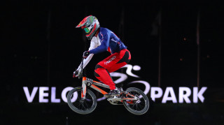 Great Britain Cycling Team's Ross Cullen finished fifth in the junior men's final at the UCI BMX World Championships