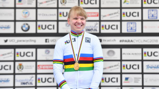 Katie Toft makes it two world titles for Great Britain Cycling Team at the UCI Para-cycling Road World Championships