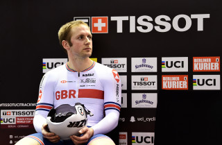 Jason Kenny at Berlin Track World Cup 2018.