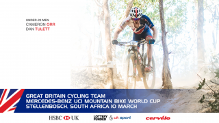 Great Britain Cycling Team for the Mercedes-Benz UCI Mountain Bike World Cup in Stellenbosch, South Africa
