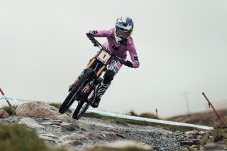 Tahnee Seagrave at the MTB World Cup in Fort William 2019.
