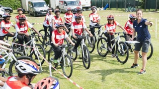 Many children are now cycling regularly though the HSBC UK Go-Ride programmes