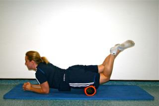 British Cycling foam roller routine