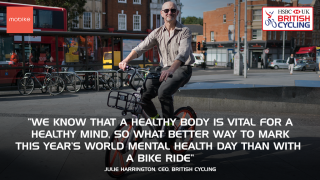 Julie Harrington quote on Mobike