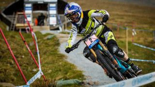 Rachel Atherton leads the 2015 UCI Mountain Bike Downhill World Cup