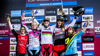 Defending world cup champion Atherton's winning run in the world cup extends back to June 2015, starting at last year's event at Fort William.