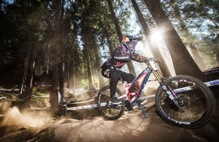 'Mr Leogang' Aaron Gwin will look to make it 4 wins in a row