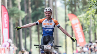 Grant Ferguson wins his fifth consecutive national mountain bike championship